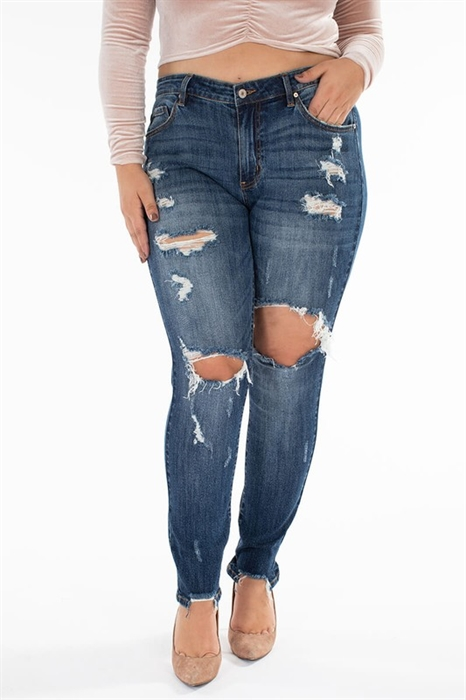 Picture of Jo Premium Ultra-Distressed Jeans